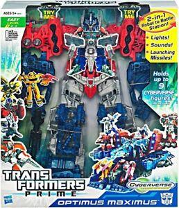 Transformers Prime Cyberverse Optimus Maximus 38152 NEW FREE SHIPPING!