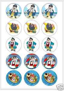 """15 x 2/"""" Betty Boop FONDANT PRE CUT ICING Cup Cake Toppers Decorations"""