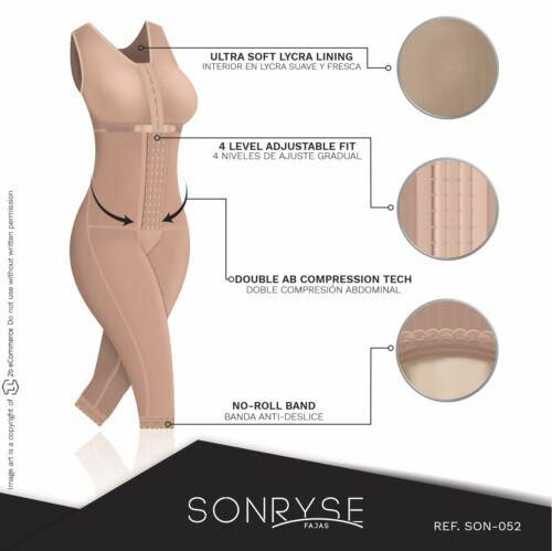Faja Diseno Colombiano Original Body Shaper Built-in Bra Post Surgery postpartum