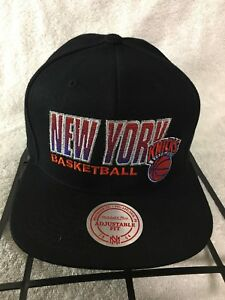 f477f5a4811 New York Knicks Mitchell   Ness Snapback Hat Adjustable Vintage ...