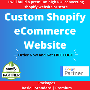 Dropshipping eCommerce Premium Shopify Website for any Niches Lifetime Support