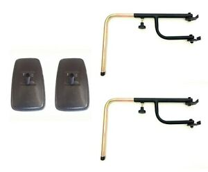 2x-Rueckspiegel-Aussenspiegel-Traktor-Bagger-285x150-Spiegelarm-Spiegelhalter-SET