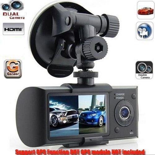 "s-l1600 2.7"" Vehicle 1080P Car DVR Camera Video Recorder Dash Cam G-Sensor Dual LenB"