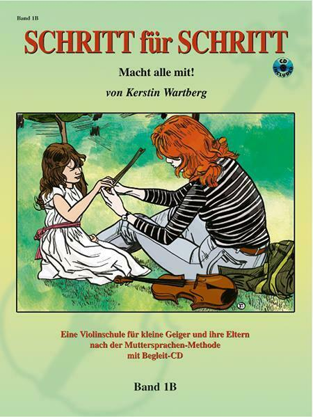 Schritt Für Schritt 1 B Songs Tunes  Learn to Play Orchestra Violin MUSIC BOOK