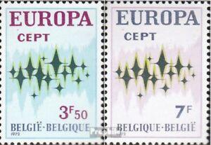 Belgien-1678-1679-kompl-Ausg-postfrisch-1972-Europa