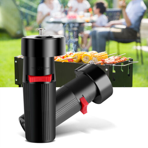 Barbecue Rotator Handheld Grill Motor 1.5V Battery Roast Bracket Holder tools DR