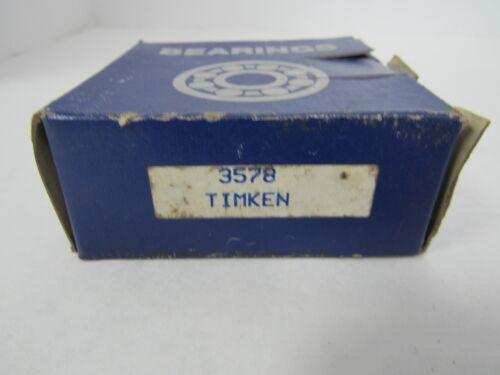 TIMKEN TAPERED ROLLER BEARING 3578