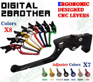 CNC Labor-Saving Adjustable Brake Clutch Levers Ducati ST4/S/ABS 2004 2005 2006