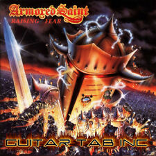 Armored Saint Guitar & Bass Tab RAISING FEAR Lessons on Disc Anthrax