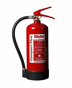 NEW 3 LITRE WATER ADDITIVE FIRE EXTINGUISHER, HOME/OFFICE WSEX3A