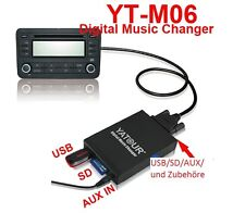 USB SD AUX Adapter MP3 CD-Wechsler 5+7 Pin  Toyota RAV 4 1994-2003