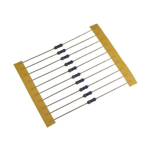 10 Widerstand 2,2KOhm MF0207 Metallfilm resistor 2,2K 0,6W TK25 0,1/% 022408
