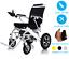 Leichte-elektrische-Rollstuhl-faltbar-Power-Mobilitaet-Char-Rollstuhl Indexbild 1