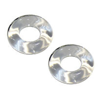 Taco Outrigger Glass Rings (pair)