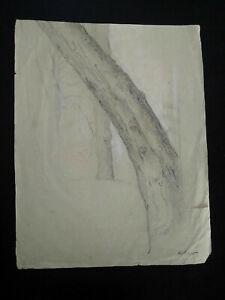 Grands-dessins-annees-20-peintre-cubiste-Albert-HUYOT-signes-cubisme-fusain