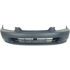 Front Bumper Cover For 1996-1998 Honda Civic Primed HO1000172 04711S01A00ZZ