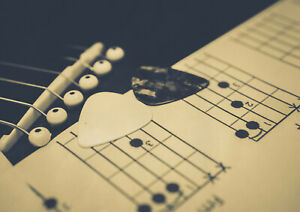 A1-Guitar-Pick-Poster-Print-Size-60-x-90cm-Music-Chords-Poster-Gift-14795