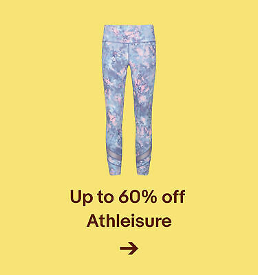 Up to 60% off  Athleisure