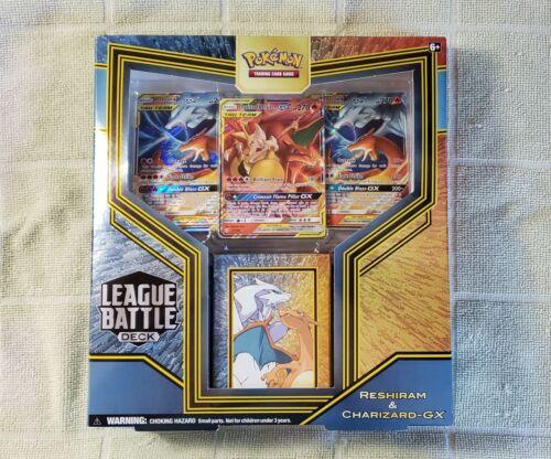 Pokem League Battle Deck Reshiram and Charizard-GX