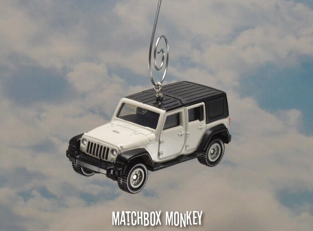Jeep Wrangler Unlimited Adornos de Navidad Personalizado 1 64 Hard Top'16,'17,'18