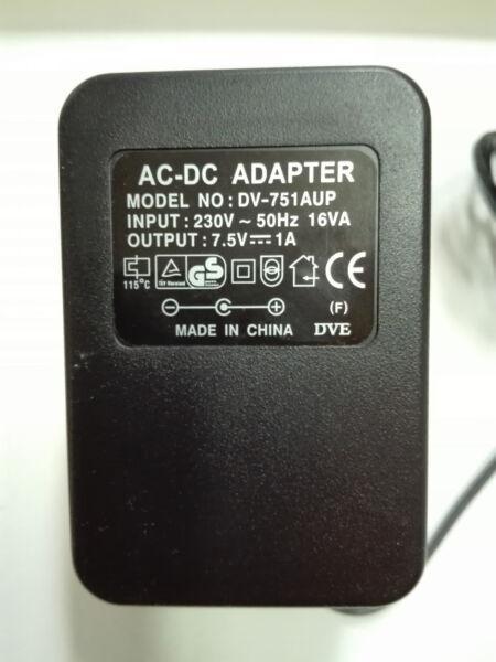 Alimentatore Originale Dve Dv-751aup Per Vari Router E Switch Netgear E Hamlet