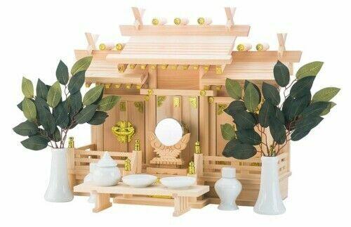 Japanese shrine small gate Torii Jinja charm shinto Japan kamidana H:160mm
