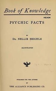 Book Of Knowledge Psychic Facts Cdrom Pdf 9781154640885 Ebay