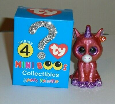 TY Beanie Mini Boos Series 3 Vinyl Figure Hand Painted OSCAR Blue Owl Checklist