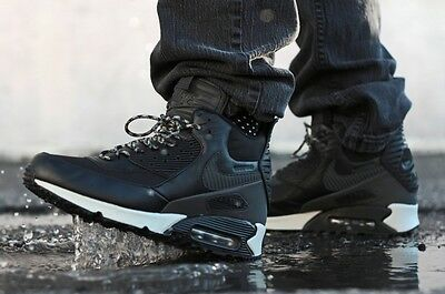Nike Air Max 90 Sneakerboot Black Grey