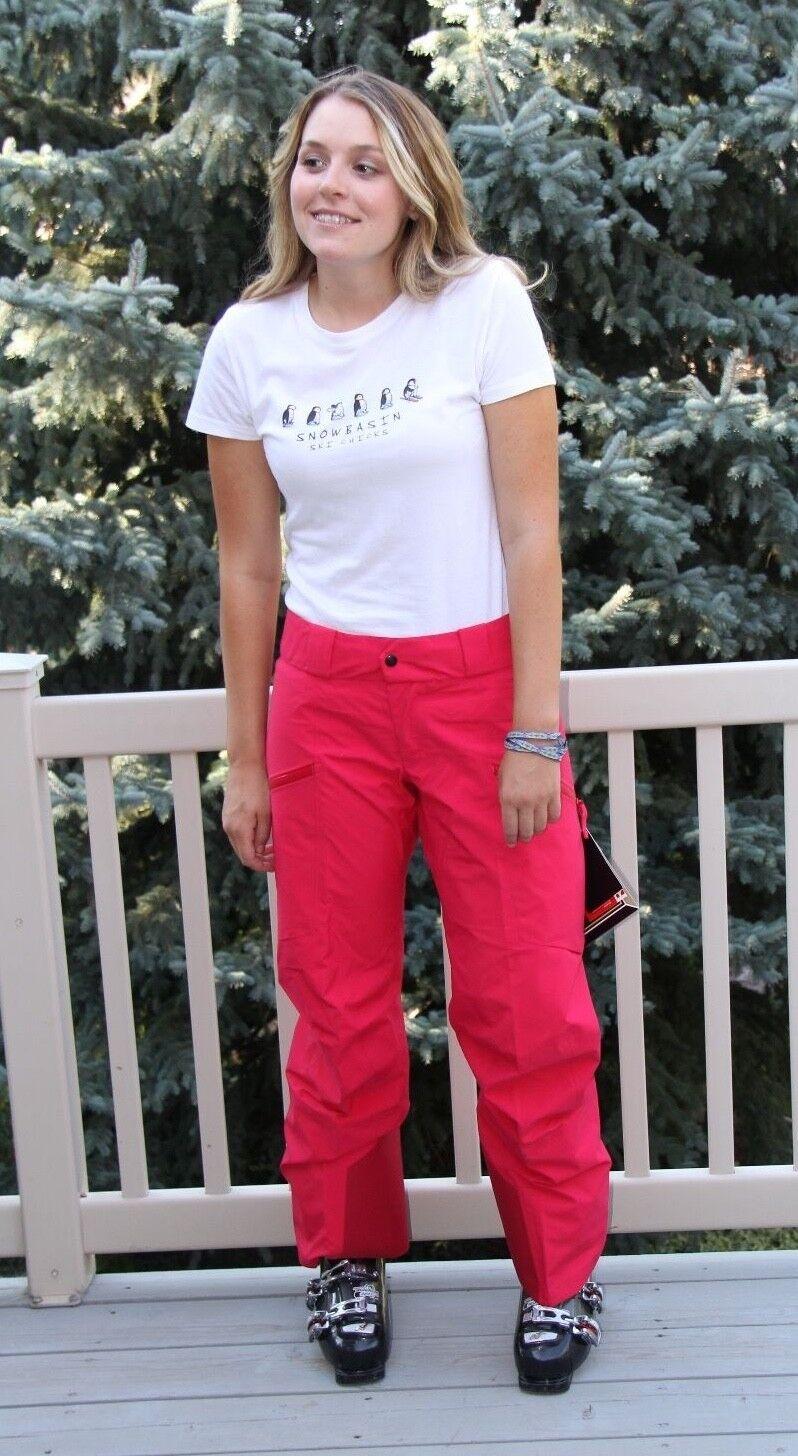 Arc'teryx Azetta Pant Women's Gore-Tex Pro Ski Snowboard Small S Pink Tulip NEW
