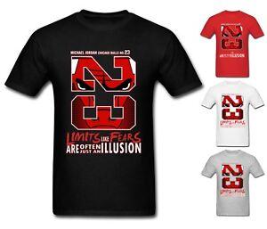 san francisco 525b8 6d765 NEW Mens T-shirt Michael Air Legend 23 Jordan Chicago Bulls ...