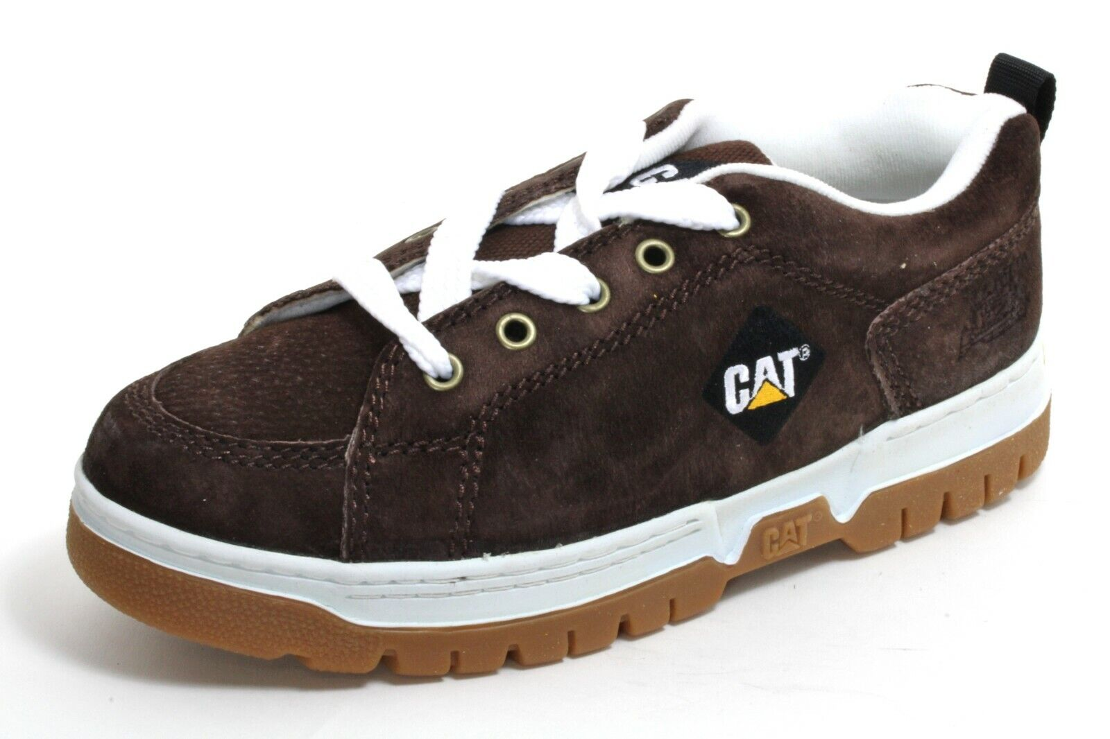 317 Lace-Up Trainers Men's Shoes Leather Boots Caterpillar 46