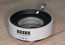 Zeiss Mikroskop Microscope Stereomikroskop Objektiv Vorsatzlinse 0,5x (47 50 67)