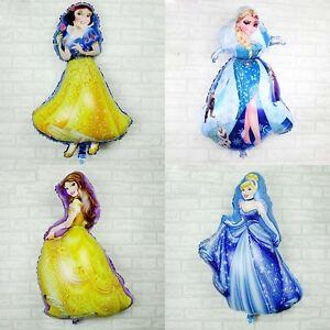 36 Snow White Frozen Elsa Princess 55 92cm Air Foil Baloons Decor
