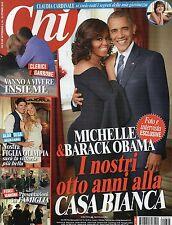 Chi 2016 44#Barack Obama & Michelle,Fedez & Chiara Ferragni,Claudia Cardinale,jj