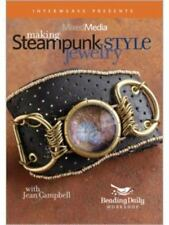 Mixed Media - Making Steampunk-Style Jewelry by Jean Campbell (2010, DVD)