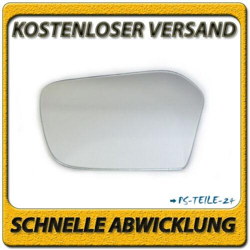 spiegelglas für MERCEDES SLC-Klasse C107 72-81 links sphärisch fahrerseite