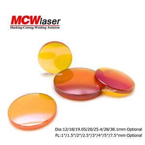 MCWlaser-ZnSe-Foucs-Lens-CO2-Laser-12-18-19-20-25mm-FL-1-034-1-5-034-2-034-2-5-034-3-034-4-034-5-034