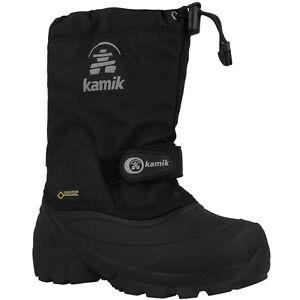 Kamik-Waterbug5G-Kinder-Winterstiefel-Boots-Stiefel-black-NK8237-BLK-Schuhe