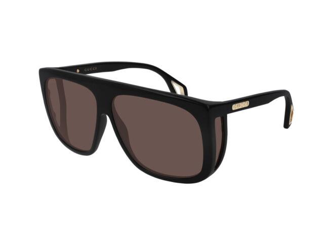 sunglasses Gucci Original GG0467S black red 002