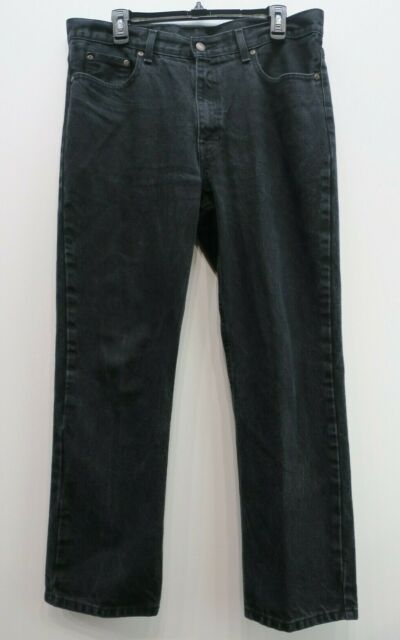 Faded Glory Men Straight Leg Regular Fit Cotton 5-Pocket Denim Jeans 34 x 30
