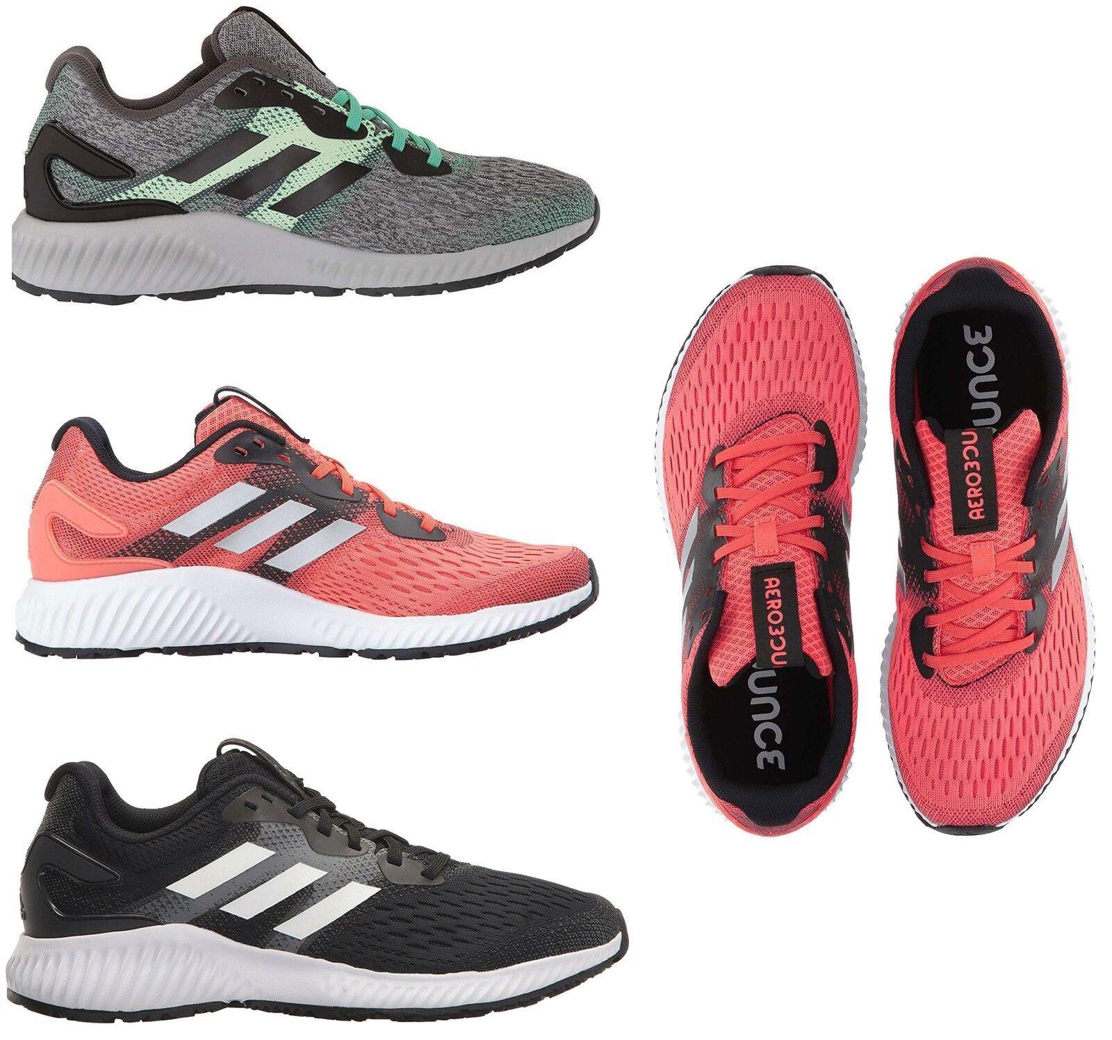 Adidas Mujeres aerobounce Correr Entrenamiento Calzado Tenis Atléticas Sports Gym Nuevo