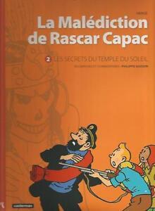 Herge-La-malediction-de-Rascar-Capac-n-2-Les-secrets-du-Temple-du-Soleil-P-Goddi