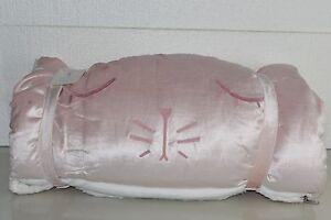Details zu Neu Pottery Barn Kinder Hase Glänzend samt Schlafsack Blass Rosa 2 Erhältlich