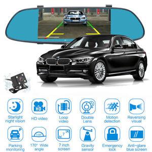 7-039-039-1080P-Touch-Dual-Lens-Car-Rear-View-Mirror-DVR-Dash-era-Night-Vision