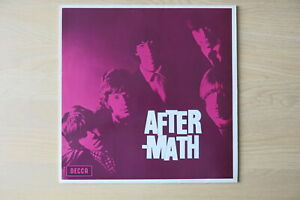 ROLLING-STONES-Aftermath-Dutch-1980s-reissue-vinyl-LP-with-bright-pink-sleeve