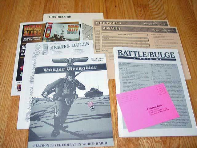 Avalanche Press Press Press - BATTLE OF THE BULGE game - Panzer