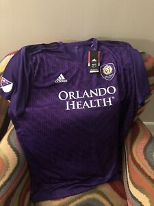 Details about Adidas Climalite Purple Orlando City Fc Mls Soccer Jersey NWT Size 3XL Mens