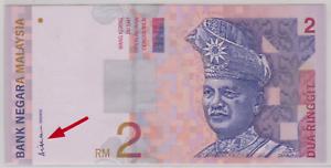 Mazuma *M920 Malaysia 9th $2 DG9953887 UNC