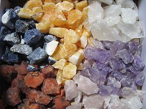 Rohsteine-EdelSteine-100g-1000g-1kg-Wasser-Heil-Deko-Steine-Mischung-MiX